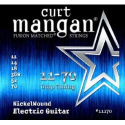 CURT MANGAN 11-70 Nickel Wound Drop Tuning