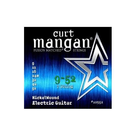CURT MANGAN 9-52 Nickel Wound 7-String