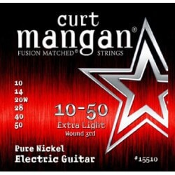 CURT MANGAN 10-50 Pure Nickel Wound