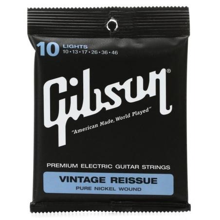 GIBSON SEG-VR10-46 LIGHT GAUGE STRUNY GITARA ELEKTRYCZNA