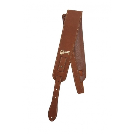 GIBSON THE NUBUCK STRAP BROWN STRAP PASEK GITAROWY