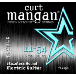 CURT MANGAN 11-54 Stainless Steel Drop Tuning