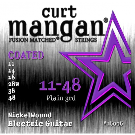 CURT MANGAN 11-48 Nickel Wound COATED