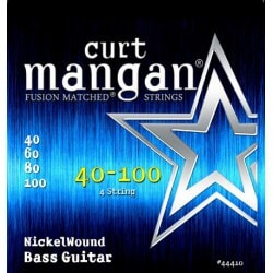 CURT MANGAN 40-100 Nickel Bass