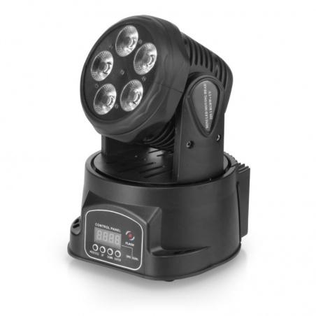 FLASH LED 5X15W 5W1 RGBW+UV głowica ruchoma - OUTLET