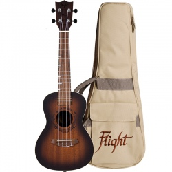 FLIGHT DUC380 AMBER UKULELE...