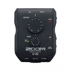 ZOOM U-22 - OUTLET