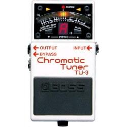 BOSS Chromatic Tuner TU-3