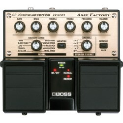 BOSS Amp Factory GP-20