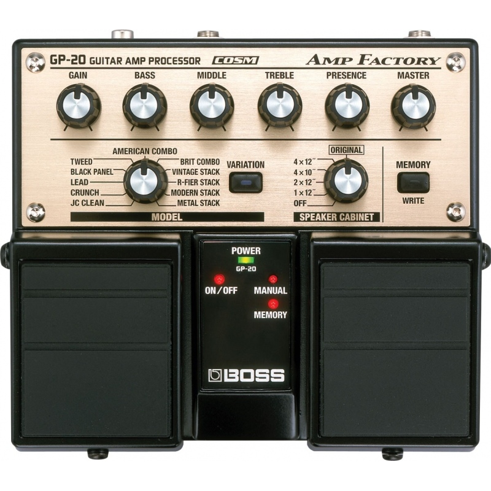 multiefekt BOSS Amp Factory GP-20
