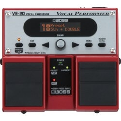 BOSS Vocal Performer VE-20