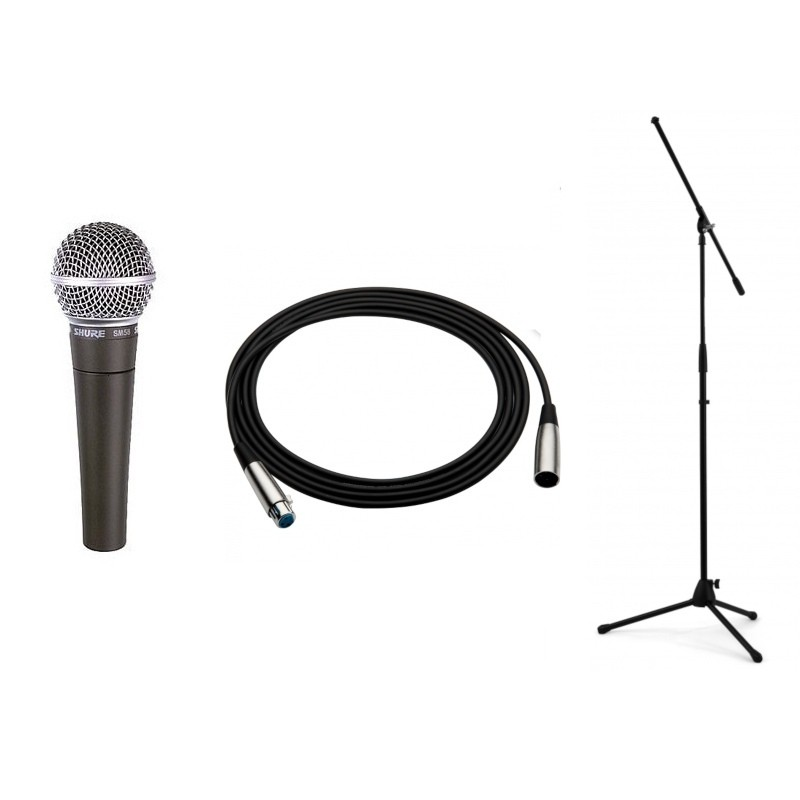 Shure Sm 58 Lce Statyw Kabel