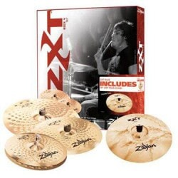 ZILDJIAN ZXT ROCK PACK + 18 CRASH