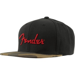 FENDER CAMO FLATBILL HAT -...