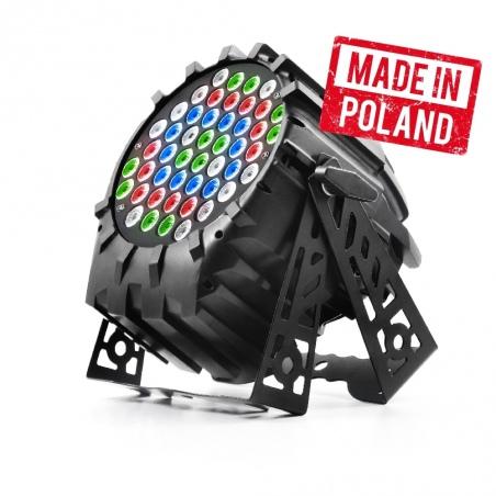 FLASH LED PAR 64 48x3W RGBW - OUTLET