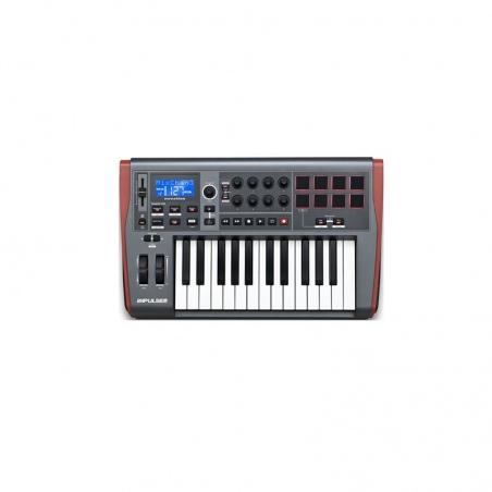 NOVATION IMPULSE 25 KONTROLER MIDI - OUTLET