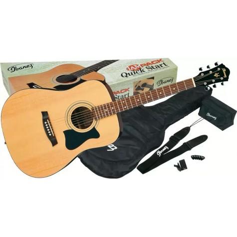 IBANEZ V50NJP NT Natural gitara akustyczna z zestawem akcesoriów ZS1