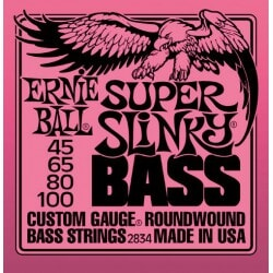 ERNIE BALL 2834 struny do gitary basowej