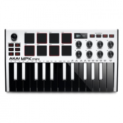 AKAI MPK MINI 3 WHITE -...
