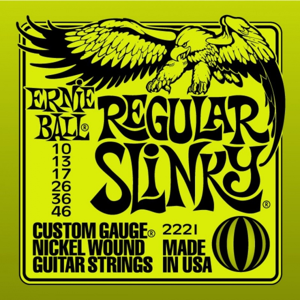ERNIE BALL 2221 REGULAR SLINKY 10-46