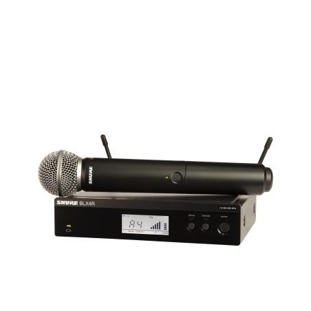 SHURE BLX 24RE/SM58-H8E - SYSTEM BEZPRZEWODOWY - OUTLET