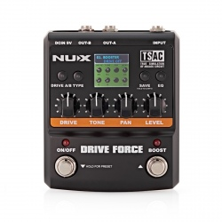 NUX DRIVE FORCE - OUTLET
