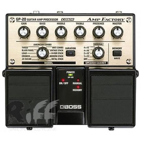 BOSS Amp Factory GP-20