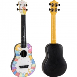 FLIGHT TUC KITTY UKULELE...