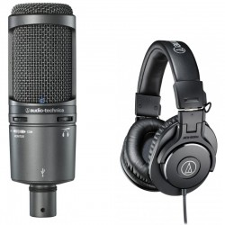 AUDIO-TECHNICA AT2020USB+...