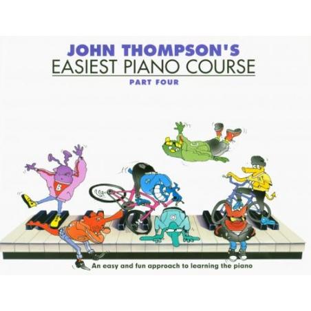PWM. THOMPSON J. EASIEST PIANO COURSE VOL.4