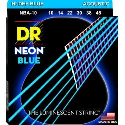 DR NBA 10-48 NEON BLUE...