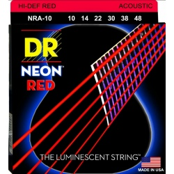 DR NRA 10-48 NEON RED...