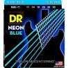 DR NBE 11-50 NEON BLUE STRUNY GITARA ELEKTRYCZNA