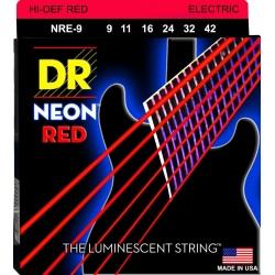 DR NRE 9-42 NEON RED STRUNY...