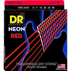 DR NRE 9-46 NEON RED STRUNY...
