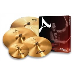 "ZILDJIAN A PROMO PACK + 18"" CRASH"