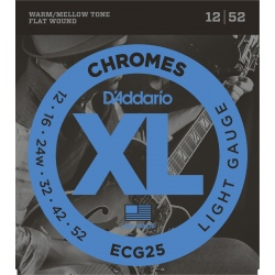 D'ADDARIO ECG25 STRUNY...