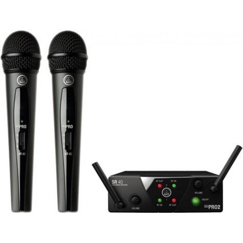 AKG WMS-40 MINI 2 DUAL VOCAL SET podwójny zestaw bezprzewodowy
