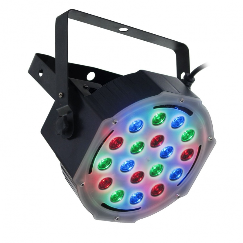 FLASH LED PAR 56 SLIM RGB AURA