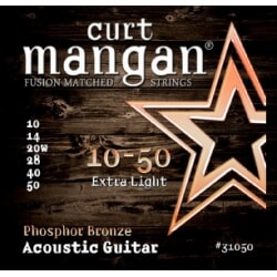 CURT MANGAN 10-50 PhosPhor Bronze Ex Light