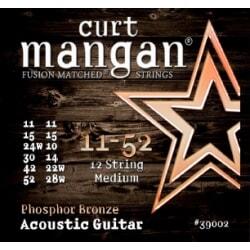 CURT MANGAN 11-52 PhosPhor Bronze 12-Str