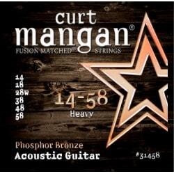 CURT MANGAN 14-58 PhosPhor Bronze Heavy