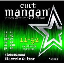 CURT MANGAN 11-52 12-string Medium Set