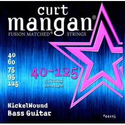 CURT MANGAN 40-125 Nickel Wound Light 5-Str