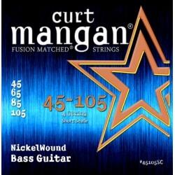 CURT MANGAN 45-105 Nickel Bass Short Scale 4-str