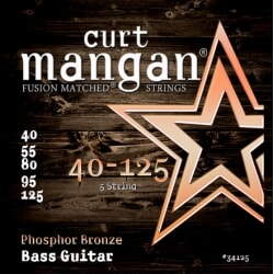 CURT MANGAN 40-125 Phosphor Bass 5-Str