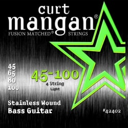 CURT MANGAN 45-100 Stainless Steel Wound