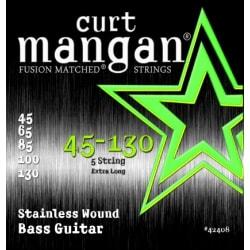 CURT MANGAN 45-130 Stainless Wound 5-Str