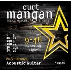 CURT MANGAN 9-46 80/20 Bronze 12-Str Light