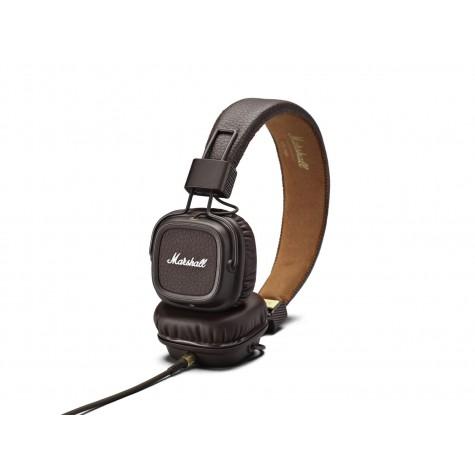 MARSHALL MAJOR II brązowe słuchawki